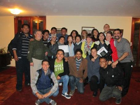 Foto de grupo certificado - Mayo 7, 2016 - IDC La Paz