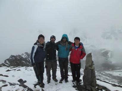 Expedición Pico Austria-Septiembre 2017